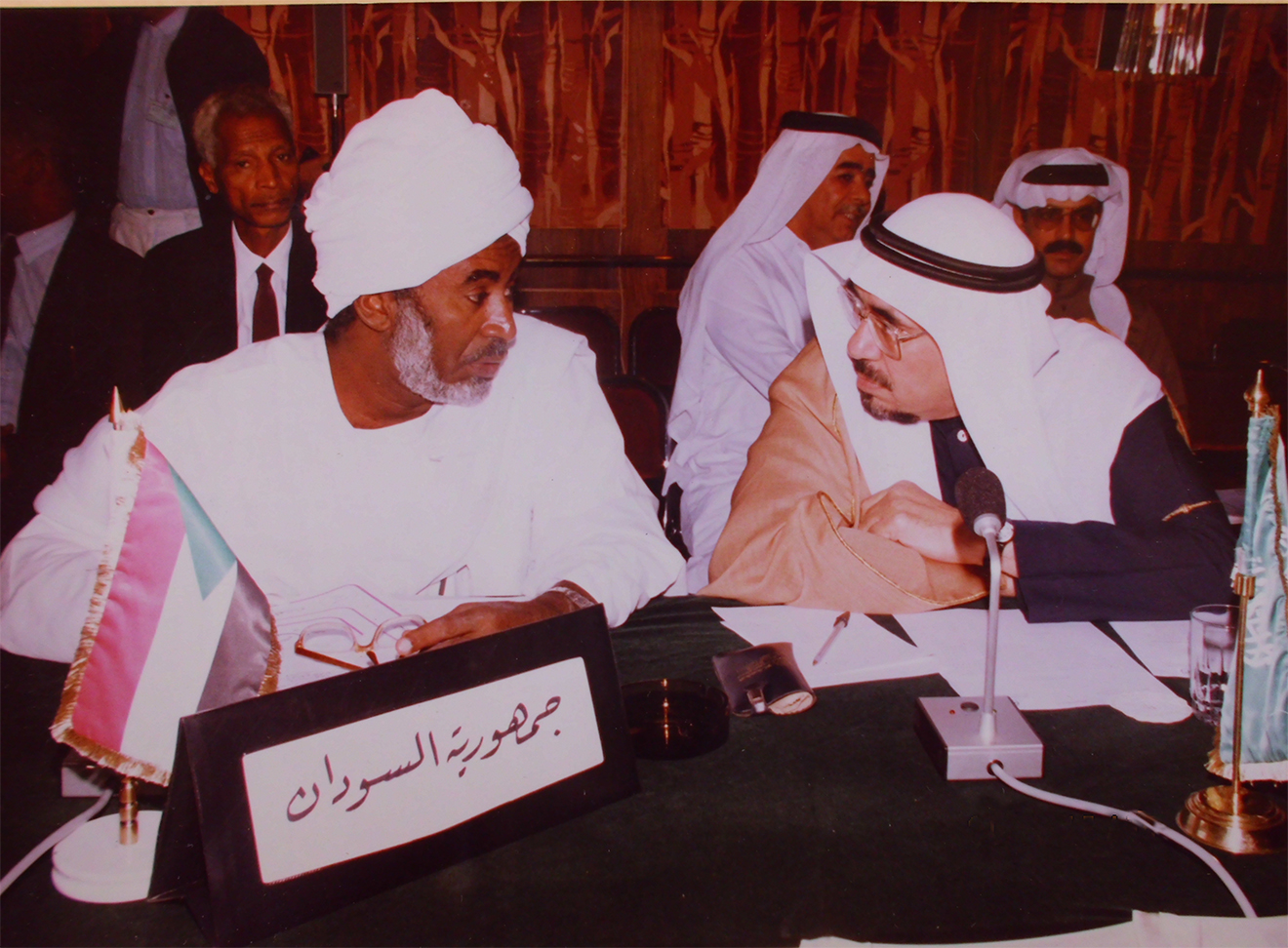 Arab-ministers-of-education-meeting-in-Damascus-1988