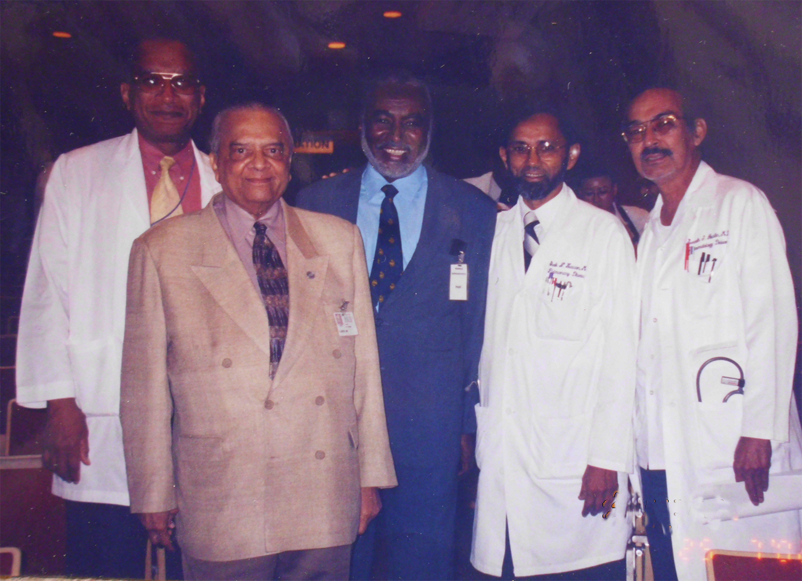 Guest-of-honor-lecturer-Mycetoma-Howard-University-Hospital-2003