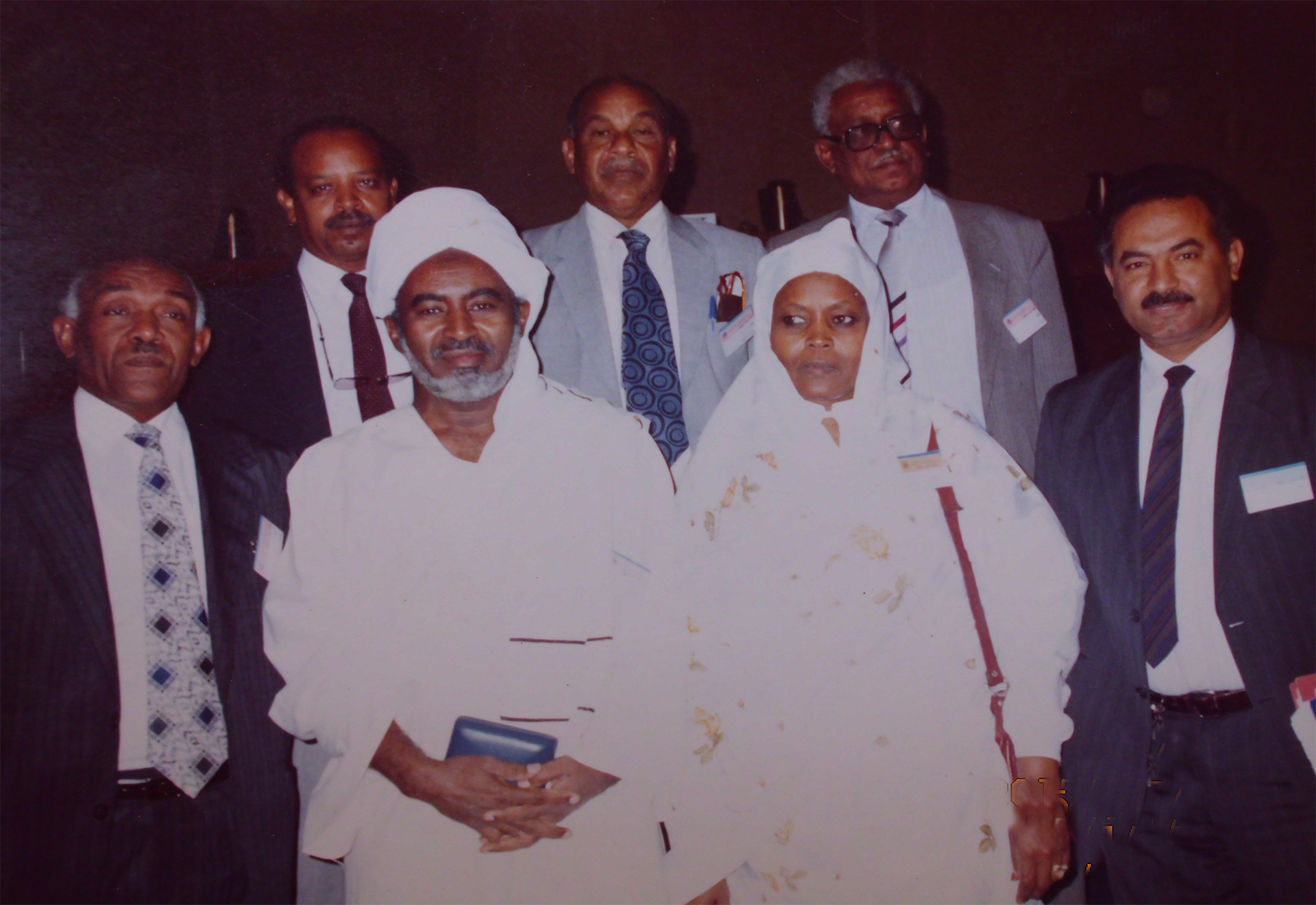 Prof-Elsheikh-Mrs.-Mahgoub-after-receiving-Shosha-prize-1989