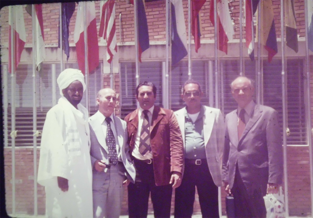 Prof-Elsheikh-Mahgoub-attending-first-international-mycetoma-conference-in-Venezuela-1978
